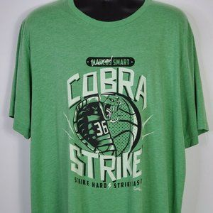 Sully's Men's Cobra Strike Green Shirt Size 3X
